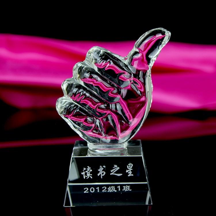 六一儿童节 水晶奖杯-009